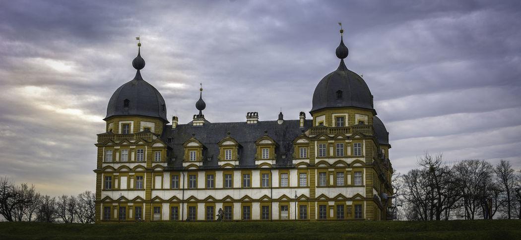 The Seehof Palace in Bamberg, Germany Architecture Bamberg  Bavaria Bayern Castle Franconia Germany Historic Memmelsdorf Oberfranken Palace Seehof Seehof Schloss