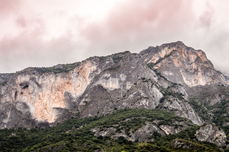 Copper Sky in the Pyrenees, Andorra Mountain Rock Cloud - Sky Rock - Object Sky Solid Nature Beauty In Nature Scenics - Nature Environment Mountain Range No People Landscape Rock Formation Day Tranquility Land Non-urban Scene Tranquil Scene Geology Outdoors Mountain Peak Formation