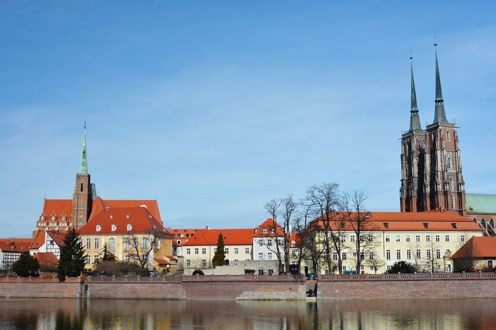 Photography Photos Around You Photooftheday Taking Photos Enjoying Life Wroclaw, Poland Odra River View Architecture