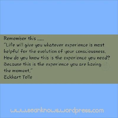 Eckharttolle Experience Rightnow SeanKnows