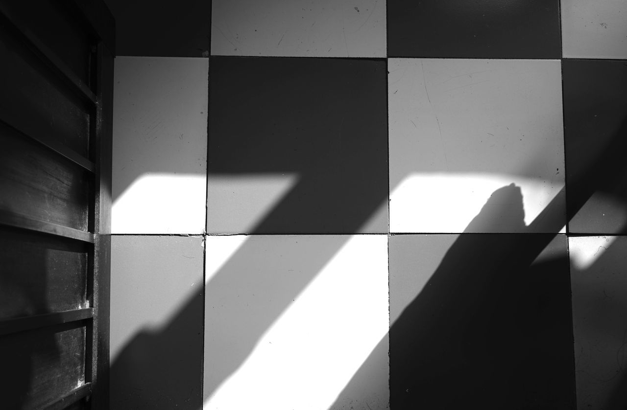 shadow, sunlight, indoors, day, no people, close-up, chess