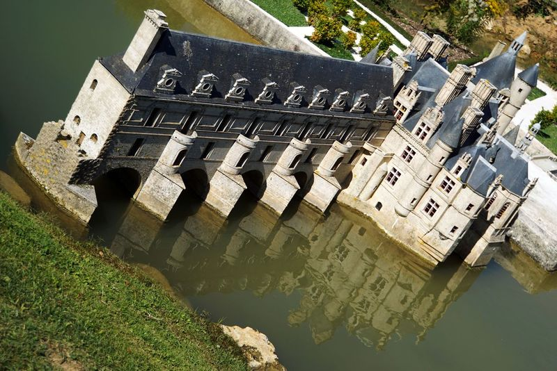 A Bird's Eye View Architecture Built Structure Building Exterior France Miniature France 🇫🇷 Water Reflections Water