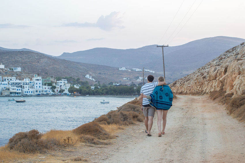 August Couple Love Tinos Greek Island Tinos Greece Young Beatiful Nature Beauty In Nature Boat Holydays Idyllic Landscape Landscapes Summer Tinos Young Adult
