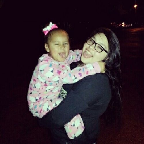 My niece Ari and I <3