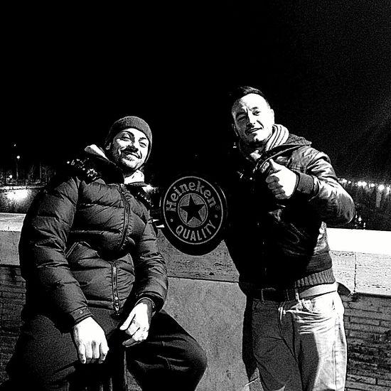 Roma Heineken Trastevere Fratello Casamia Blackandwhite Nottata Beer Nostalgic  of House ......