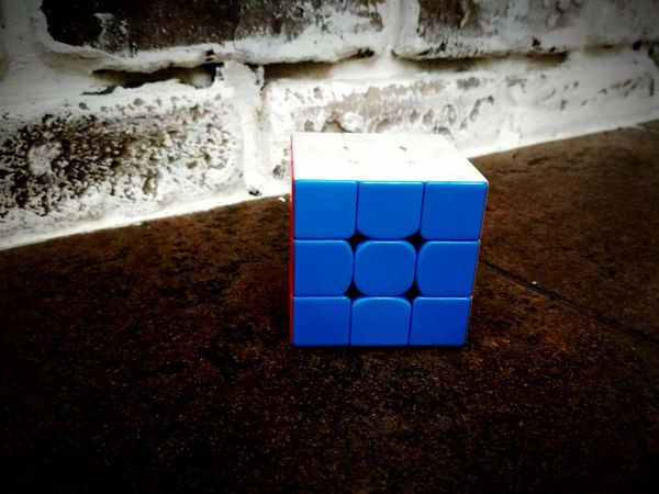 Rubik'scube Indoors  No People Sand Stack Day