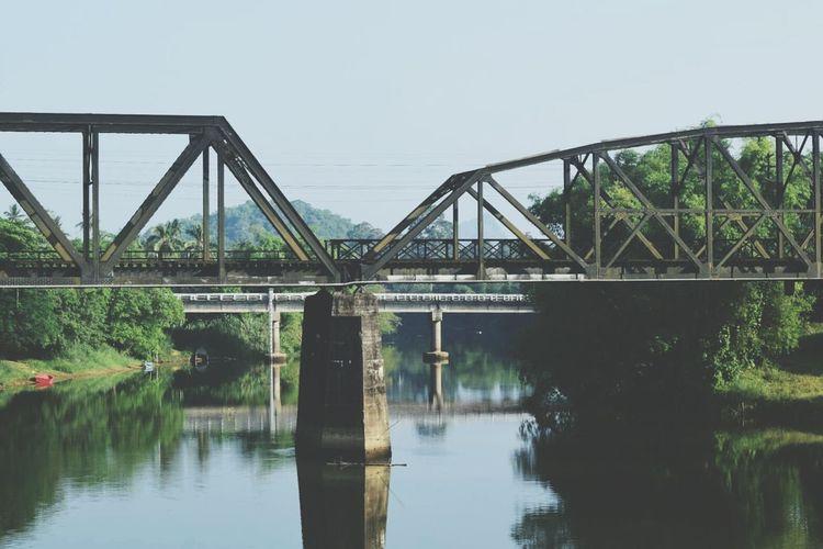 สะพาน แม่น้ำ ทางรถไฟ ชุมพร First Eyeem Photo