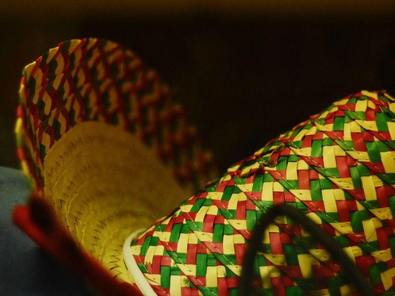 Sombrero Tradition Cinco De Mayo Mexican Mexico Hat City Celebration Multi Colored Close-up Sombrero Mexican Culture Festival Sun Hat Straw Hat Woven