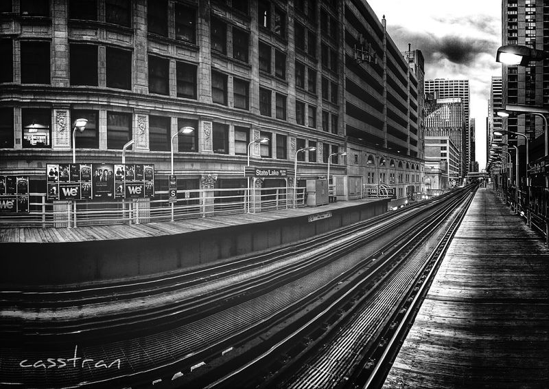 Another beautiful gray day! Eyem Best Shots Perspective Train The Explorer - 2014 EyeEm Awards