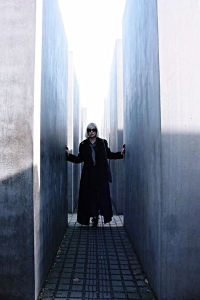 Portrait in Berlin, Memorial to the Murdered Jews of Europe