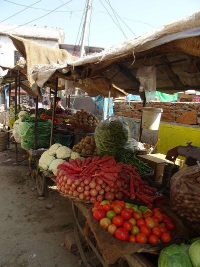 Market near