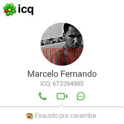 Estou pronto para chat no ICQ Icq 673294985