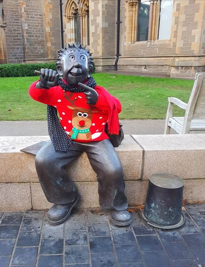 Statue Travel Destinations Eyem Best Shots Oor Wullie EyeEm Selects Scotland The Best From Holiday POV No People Dundee Scotland Vacations Outdoors Christmas Christmas Around The World Christmas Jumper