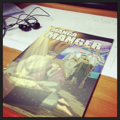 Someone put this on my table this morning. Thanks, #stranger ! And #merry #christmas everyone! #mademyday #manga #manger #jesus #nativity #hesthereasonfortheseason Jesus Christmas Merry Nativity Manga Stranger Manger Mademyday Hesthereasonfortheseason