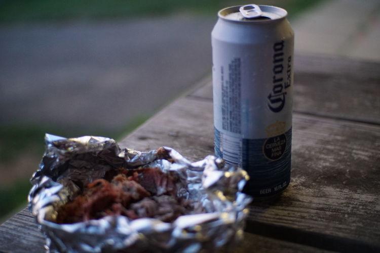 Pulledpork Beer Corona Chilling