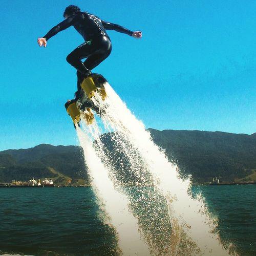 Mais flyboard em ilhabela Paulostefani Eusouflyboardsp