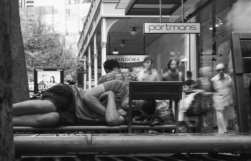 Real People Full Length Day Outdoors Sitting Architecture One Person Adult People Sydney Streetphotography Streetphoto_bw Streetart Australia Photooftheday Live For The Story The Street Photographer - 2017 EyeEm Awards