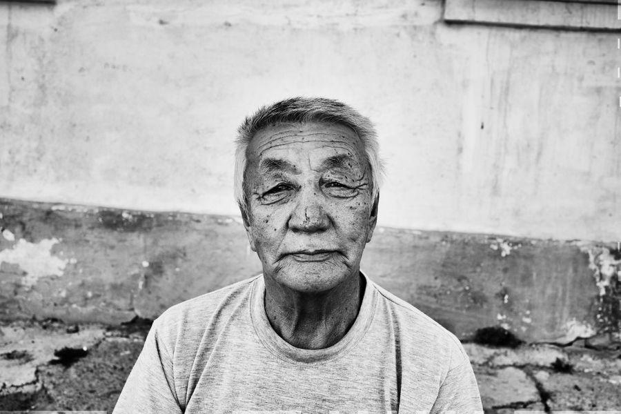 Mongolia 2016 Mongolia Streetphotography Monochrome Canon6d Portrait