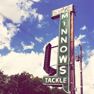 Minnows for sale Minnesota Minnesota Summer Lakelife Tackle Upnorth Minnows Fishing LakeMilleLacs Mille Lacs Signs Old Signs
