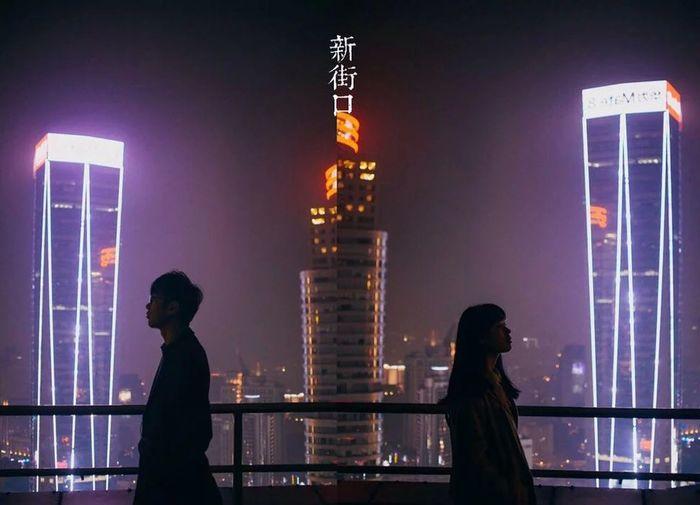 黑白 新街口 南京 夜景 Night Scenes Taking Photos Relaxing Nanjing Memorial Sweetheart