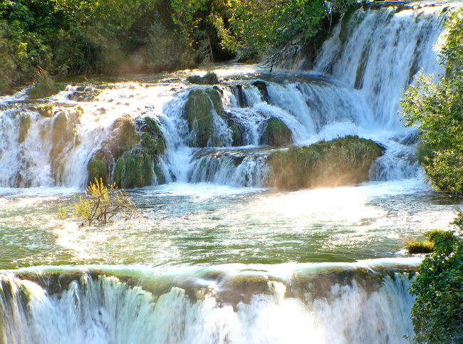 Krka Waterfalls, Near Sibenik, Croatia River Motion Water Nature Tree Day Waterfall Outdoors Forest Flowing Water Scenics Beauty In Nature No People Tranquil Scene Thundering Waterfall Waterfalls In Croatia