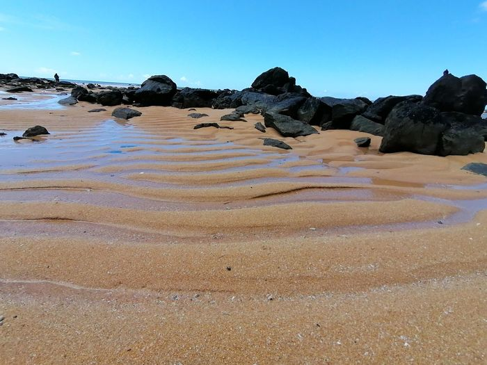 Water Beach Clear Sky Sand Sea Rock - Object Mountain Sand Dune Sky Landscape Geology Geyser Eroded Physical Geography Rock Formation Natural Landmark Rock Hoodoo Sandstone Natural Arch