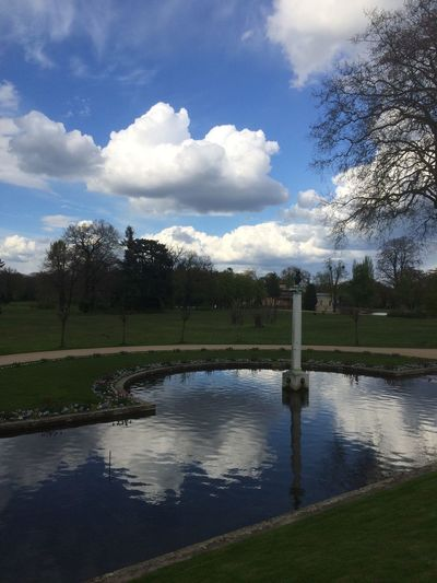 #Potsdam Beauty In Nature Cloud - Sky Day Grass Lake Landscape Nature No People Outdoors Reflection Scenery Scenics Sky Tranquil Scene Tranquility Tree Water