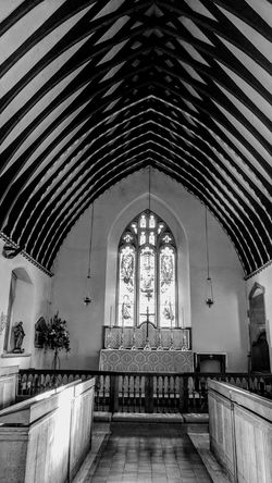 Church Indoors  Arch Architecture Built Structure Day No People