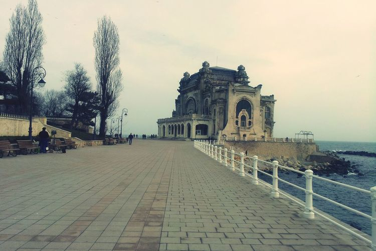 Old Casino in Constanta, Romania Arhitecture People Old Building  Casino Old Building  Constanta Travel EyeEmNewHere Walk Sea Shore