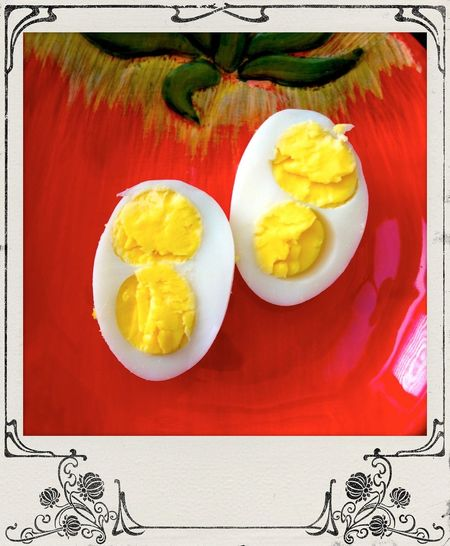 What's For Dinner? Delicious Double Quail Egg Yolks Foodie For EyeEm Foodies. Omg My Food Hello World