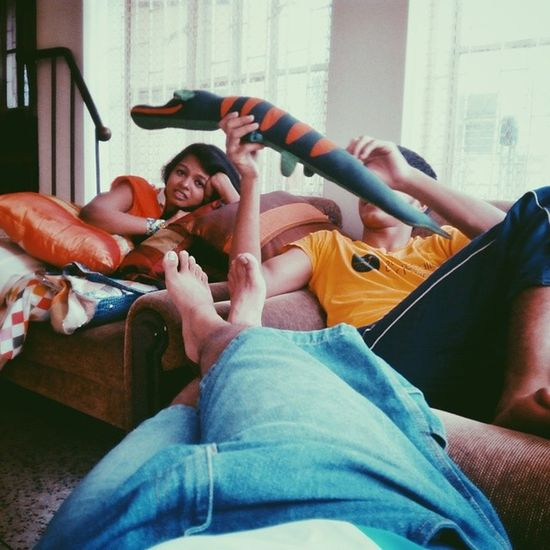 Day 5: Hanging out, watching Ananta Jalil, lazy time. 100happydays Instadaily Whereistand Color Vscocam Dhaka Bangladesh Lazy Hangouts