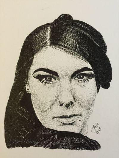 Finally complete - my portrait of Elize Ryd singer in Amaranthe Black & White Art Portrait Fanart Pen And Ink Drawing MyArt ArtWork Art #illustration #drawing #draw #tagsforlikes #picture #photography #artist #sketch #sketchbook #paper #pen #pencil #artsy #in Myartwork