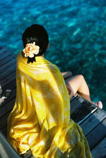 Day Jumeirah Vittaveli Nature One Person Outdoors Real People The Republic Of Maldives Water Yellow