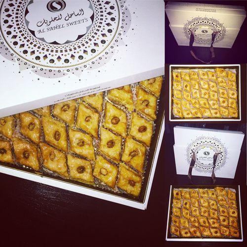 Libyan Baklava Baklava Baklawa Baklava Plate Libyan Food الساحل Sweets Yum Yummy 🍬🍰🙉 🇱🇾🇱🇾🇱🇾