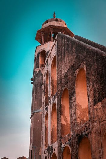 Watchtower Sky Low Angle View Built Structure Building Exterior Architecture Religion Nature Travel Destinations Spirituality Clear Sky The Past Travel No People History Place Of Worship Building Tower Belief