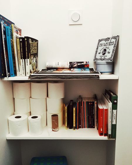 Everything In Its Place Toiletpaper Toilet Books