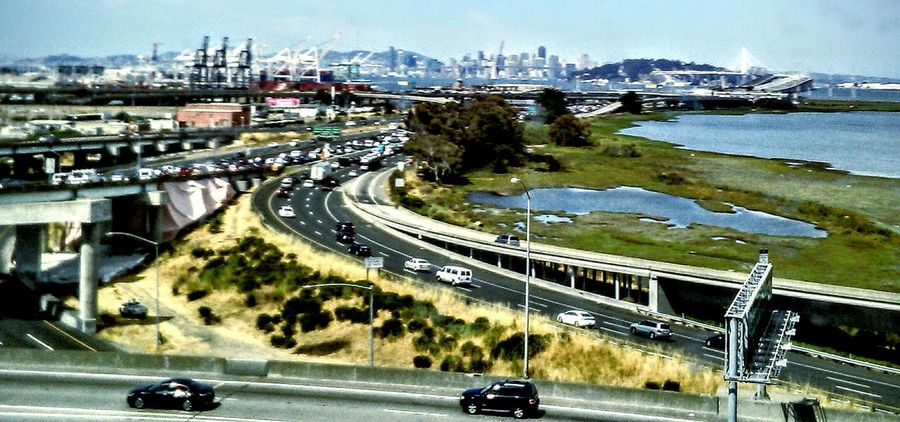 View From Bus Window EyeEm Best Shots Freeway Landscape Nature Feel The Journey San Francisco In The Background My Photography Taking Photos ❤ Waterscape San Francisco Bay Bay Bridge Infrastructure Industrial Architecture Freeway Scenery Highways And Byways Traffic Travel Photography Street Photography Mein Automoment Cars And Traffic Highway Photography View From The Bus Window Freeway Overpass Eye4photography  Motion Photography