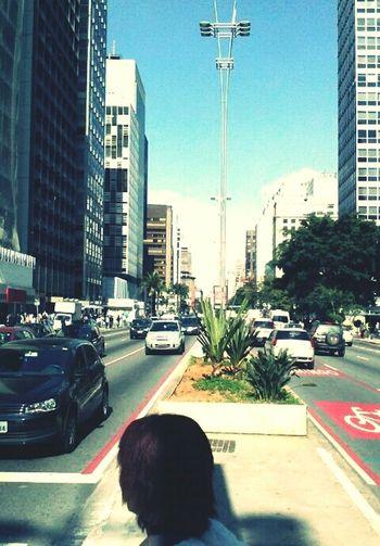 avenida paulista dia lindo Eu, Eu, Eu E Eu. Na Contax