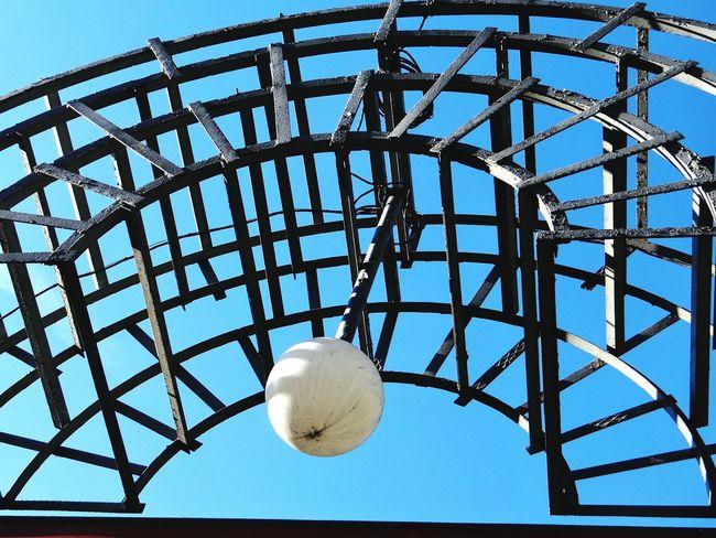 георгиевск городской парк арка ворота конструкция лампа  Stavropolregion Architectural Detail Lamp