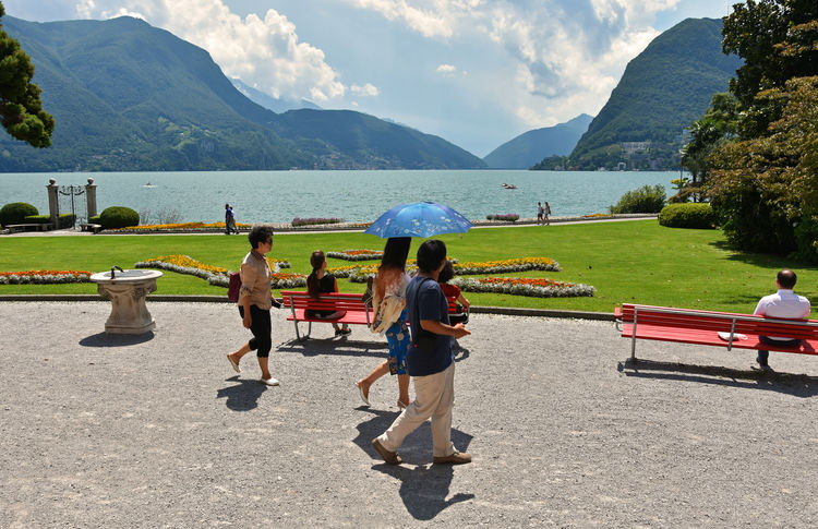 Parco Ciani Sunny Day Autentic Moments The Tourist Japanese  People Together My Best Travel Photo