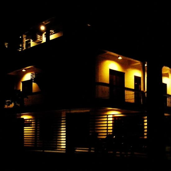 the white house near our dorm when night... Creative Light And Shadow Light And Shadow House Lights Shadow Lights And Shadows Eyeem Philippines Getting Creative EyeEm Night Shots EyeEm Best Shots Seeing The Sights My Best Photo 2015