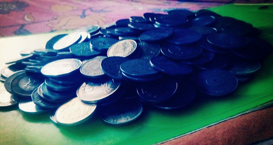 Coin Collection Coins Collection Coins ₹_₹ Old Coin Collection Old Coins Coins On The Table Coins,coins,coins...