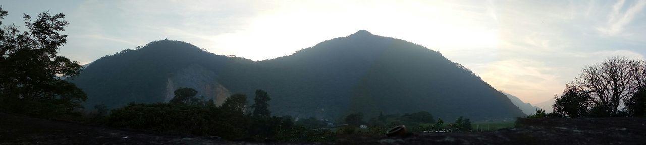 Should've sent a poet. Mountain Panorama Cameraphone Phone Photography Mexico Orizaba Veracruz, México Montañas❤ Sunset Silhouettes