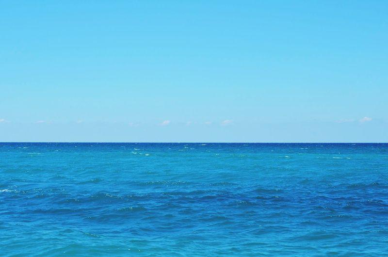 Gagra Sea Sea And Sky