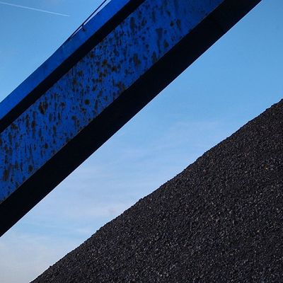 COAL_WITH_A_GOAL Harvestfromharbour taken at  überseehafen Rostock