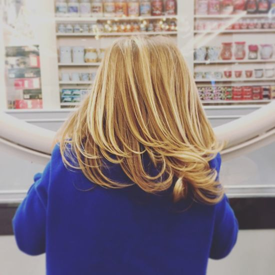 Blond Hair One Person Indoors  Close-up Young Women Toddler  Portrait Childhood Innocence Girls Focus On Foreground Long Hair Back View Of Girl Back View Meches
