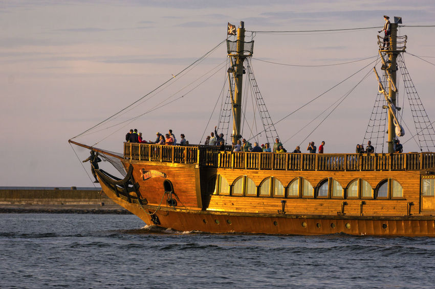 Baltic Sea Connection Group Of People Mode Of Transportation Nature Nautical Vessel Outdoors Sailboat Sea Transportation Travel Water Waterfront