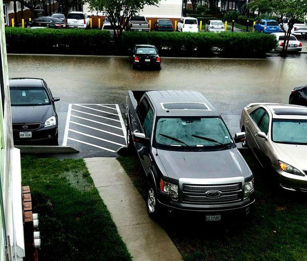 Hurricane Harvey on day 2