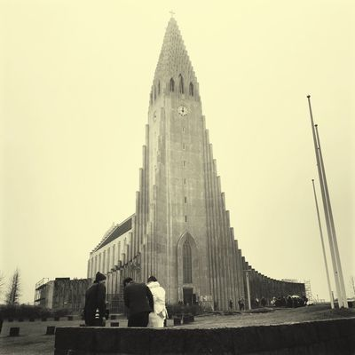 Reykjavik Architecture Travel Destinations People Place Of Worship Outdoors Wedding Day Japanese Wedding Blackandwhite
