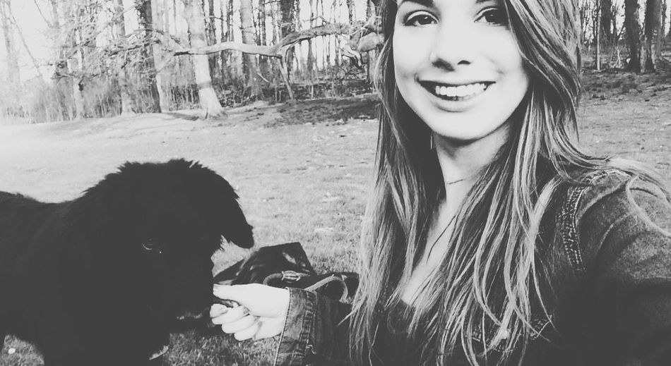 Me and you against the world 😘 Check This Out That's Me Hanging Out Hello World Cheese! Enjoying Life Animals Dog Blackandwhite Smile